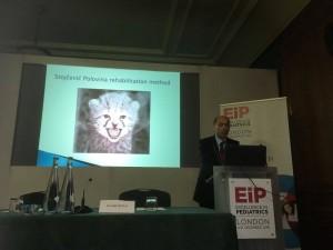 Dr.sc. Svetislav Polovina predstavlja rehabilitacijsku metodu Stojčević Polovina na Excellence in pediatrics 2016, London, Velika Britanija